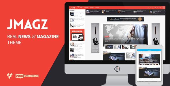 ThemeForest JMagz Tech News Review Magazine WordPress Theme 10571858