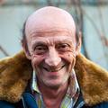 Portrait of a smiling elderly man outdoors closeup - PhotoDune Item for Sale