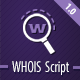 Whois Script - CodeCanyon Item for Sale