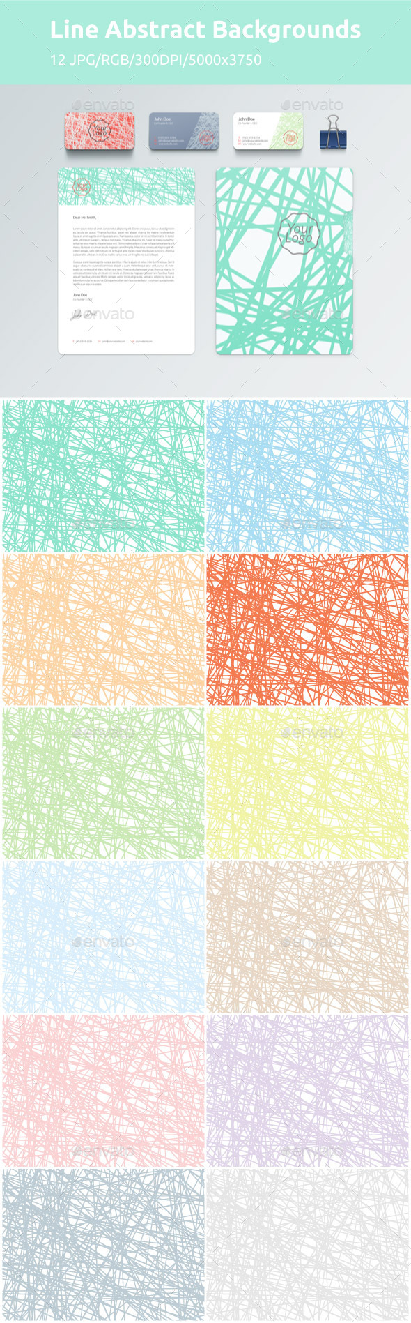 GraphicRiver Line Abstract Backgrounds 10572759