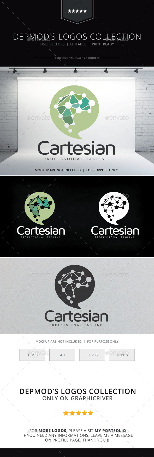 GraphicRiver Cartesian Logo 10573404
