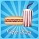 Hotdog Poster - GraphicRiver Item for Sale