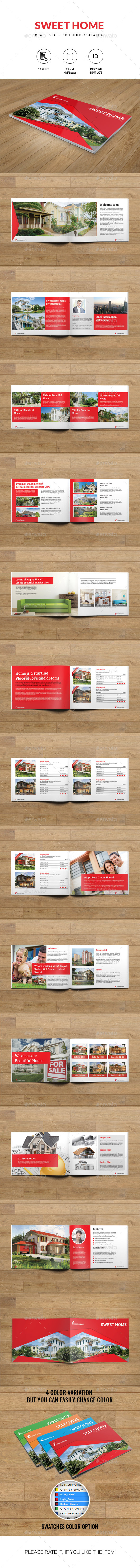 GraphicRiver Real Estate Brochure-A5 and Half Letter Size 10573455