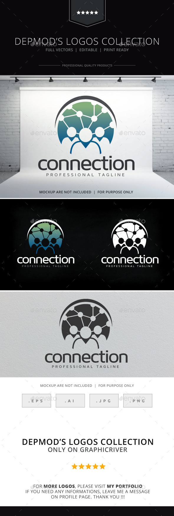 GraphicRiver Connection Logo 10573755