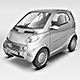 Smart Car Mock Up - GraphicRiver Item for Sale