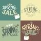 Spring Sale Labels Set - GraphicRiver Item for Sale