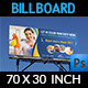 Cleaning Services Billboard Template Vol.2 - GraphicRiver Item for Sale
