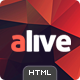 Alive: Responsive Bootstrap HTML5 App Landing Page - ThemeForest Item for Sale