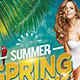 Summer Spring Break - GraphicRiver Item for Sale