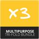 Tri-Fold Brochure Bundle - Multipurpose - GraphicRiver Item for Sale