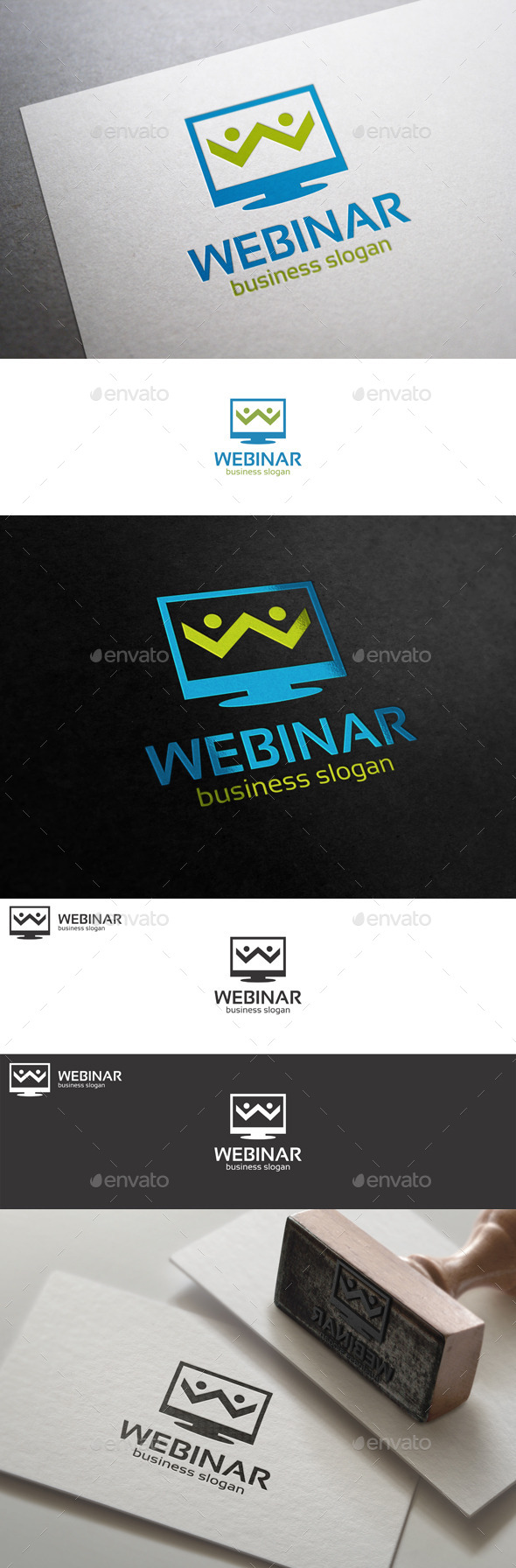 GraphicRiver Webinar Internet Workshop Logo 10575004