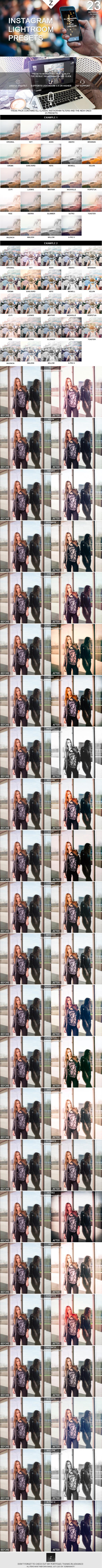 GraphicRiver Instagram Lightroom Presets 10577105