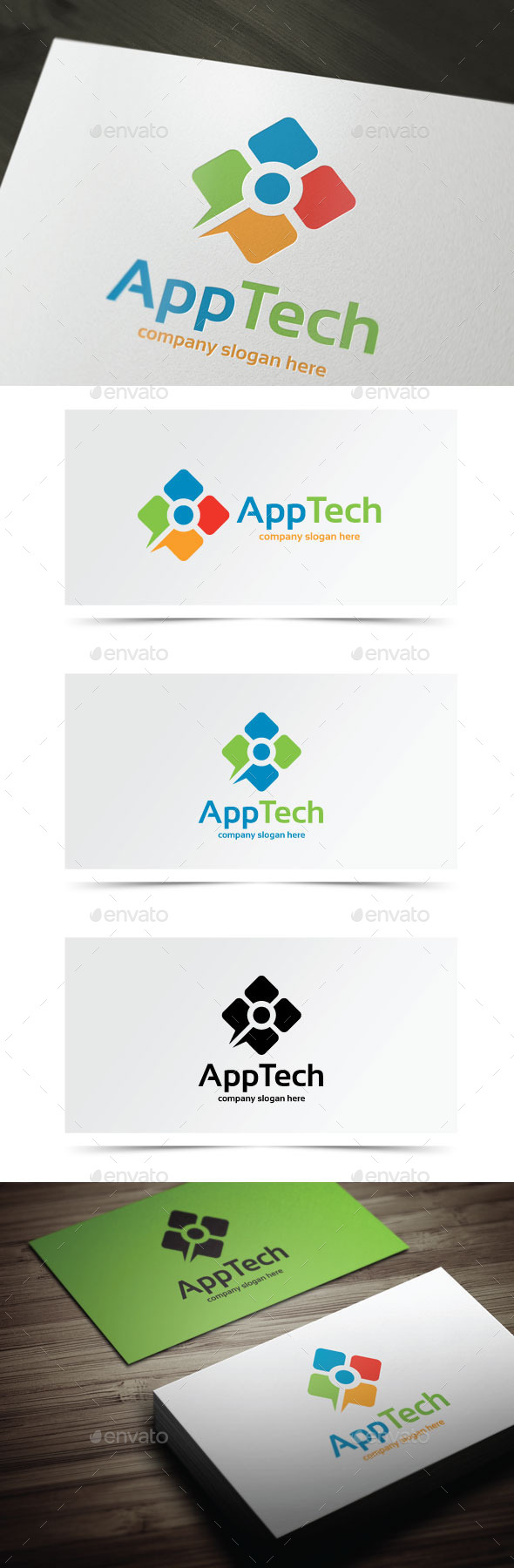 GraphicRiver App Tech 10577236