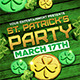 St Patricks Party Flyer Template - GraphicRiver Item for Sale