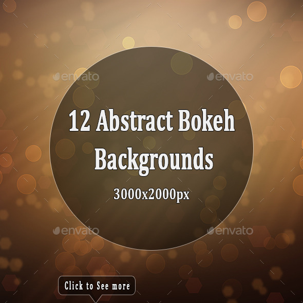 GraphicRiver Abstract Bokeh Backgrounds 10577589