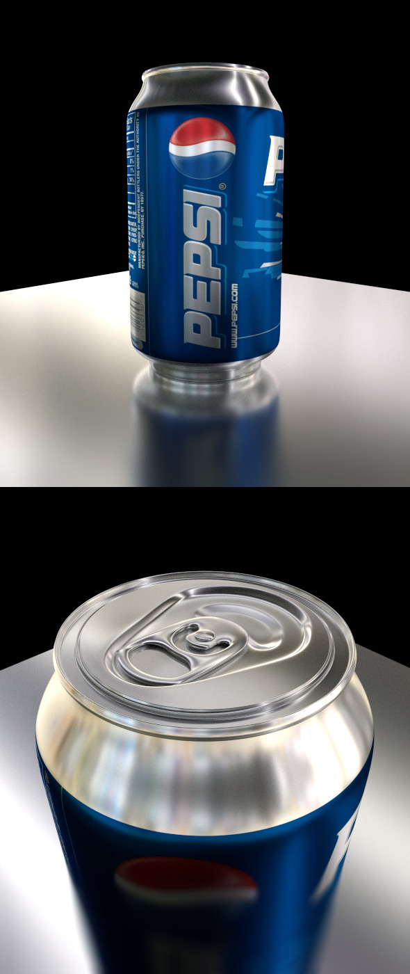 3DOcean Customizable Soda Can 10577590