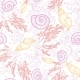 Sea Shells and Weed Pattern - GraphicRiver Item for Sale