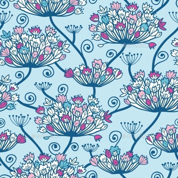 GraphicRiver Flower Pattern 10577956