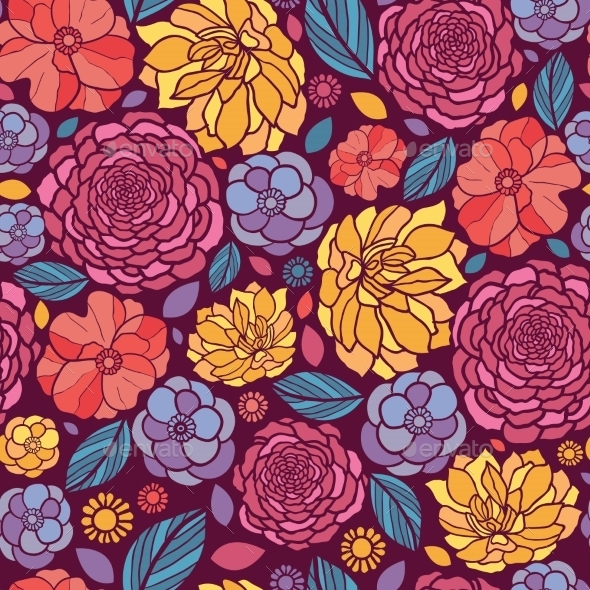 GraphicRiver Summer Pattern 10577989