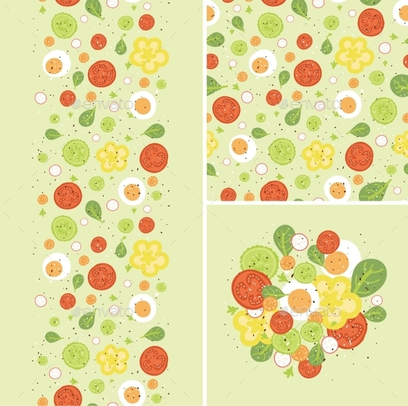 GraphicRiver Egg Salad Pattern 10578001