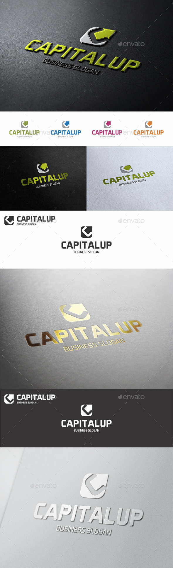 GraphicRiver Capital Up C Logo Letter 10578006