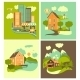 Set of Homes - GraphicRiver Item for Sale