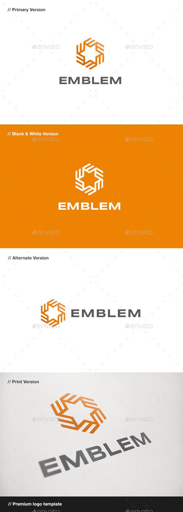 GraphicRiver Emblem Symbol Logo 10578343