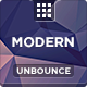 Modern - Multipurpose Unbounce Template - ThemeForest Item for Sale