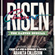 Retro Church Risen Concert Flyer - GraphicRiver Item for Sale