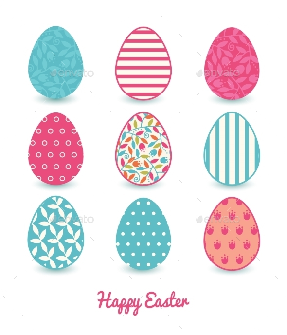 GraphicRiver Easter Eggs 10578407