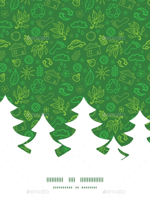 GraphicRiver Ecology Christmas Pattern 10578658