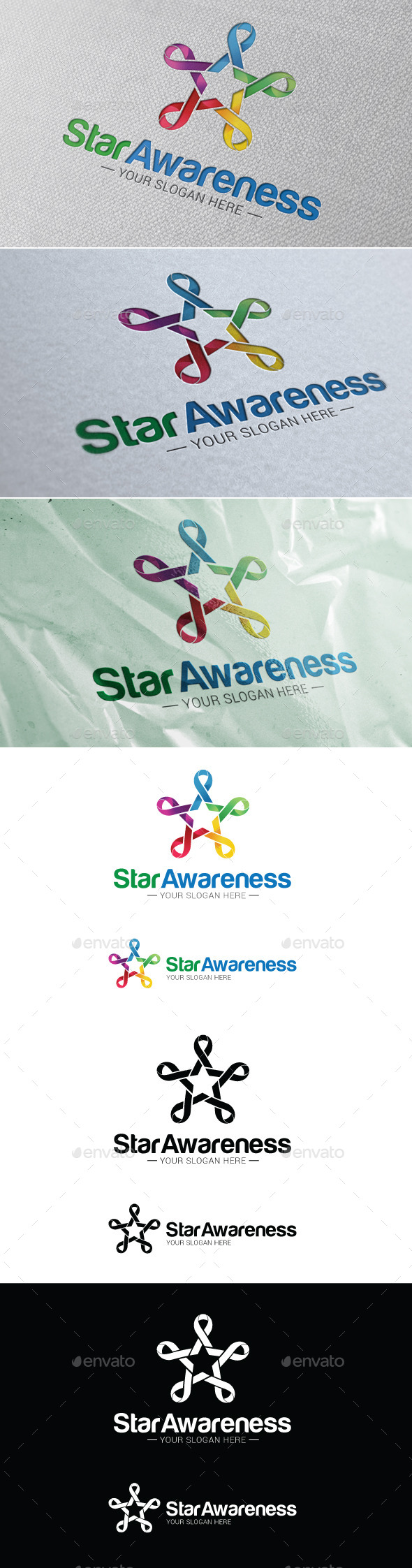 Star Awareness Logo Template