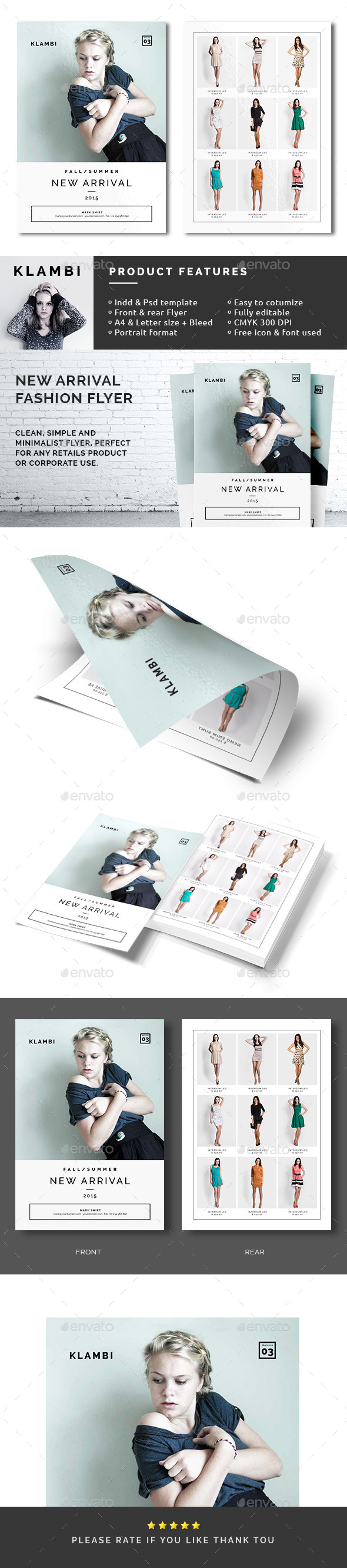 GraphicRiver New Arrival Fashion Flyer 10511188