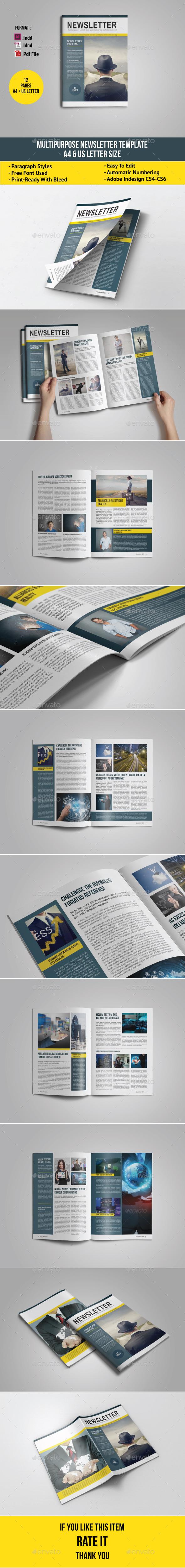 GraphicRiver Multipurpose Newsletter 10579077