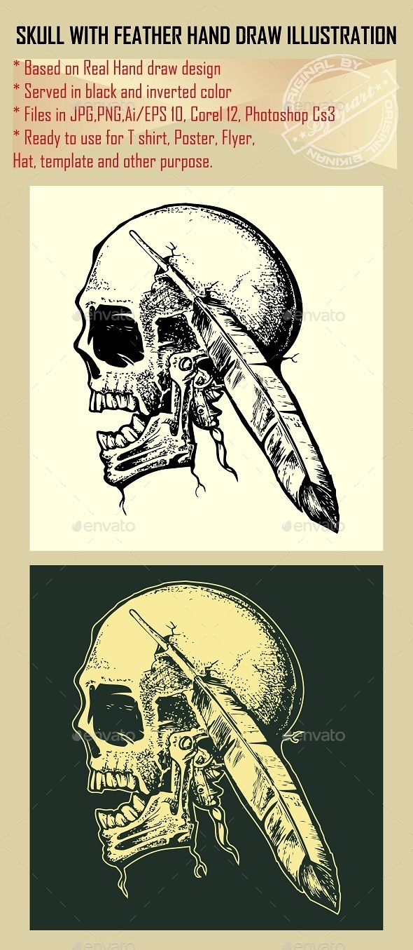 GraphicRiver Skull 10579164