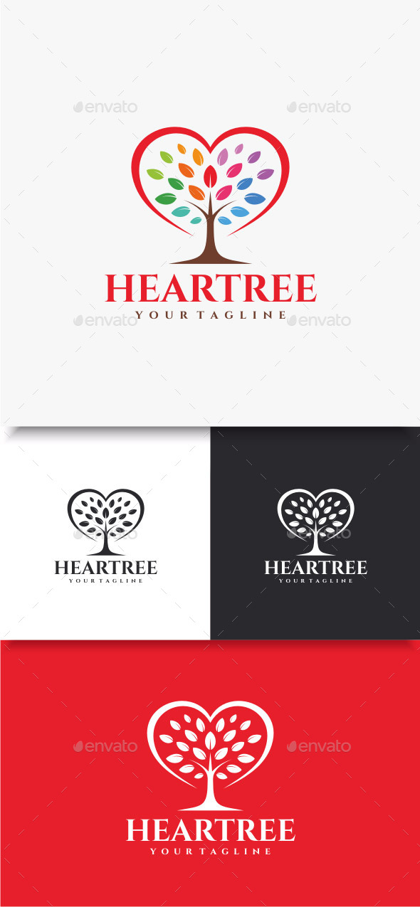 GraphicRiver Heartree Logo 10579785