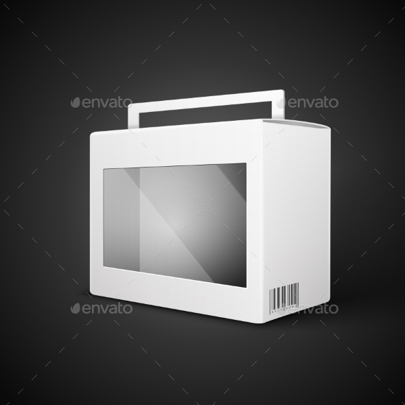 GraphicRiver White Package Box 10580056