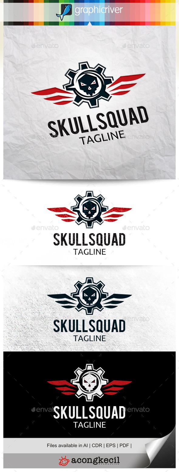 GraphicRiver Skull Squad 10580077
