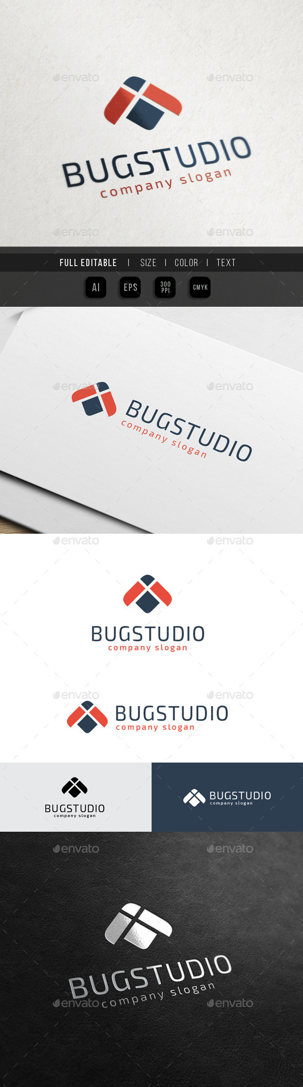 GraphicRiver Bug Studio Finance Marketing 10580124