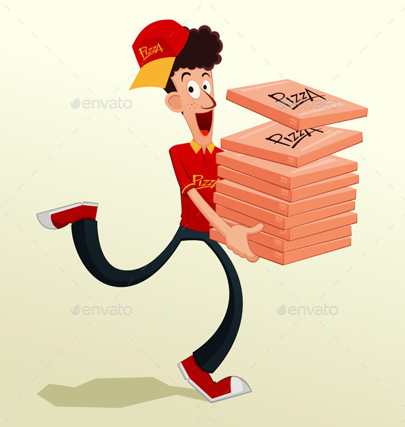 GraphicRiver Pizza Delivery 10580339