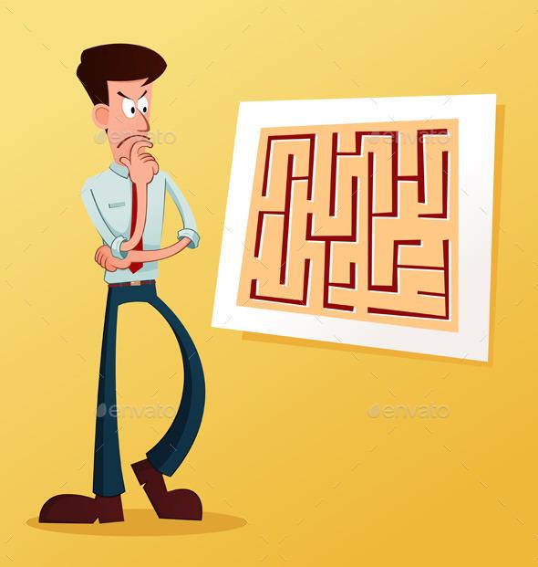 GraphicRiver Solve The Maze 10580392