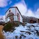 White Church on the Hill and Matterhorn Peak before Dawn, Zermat - PhotoDune Item for Sale