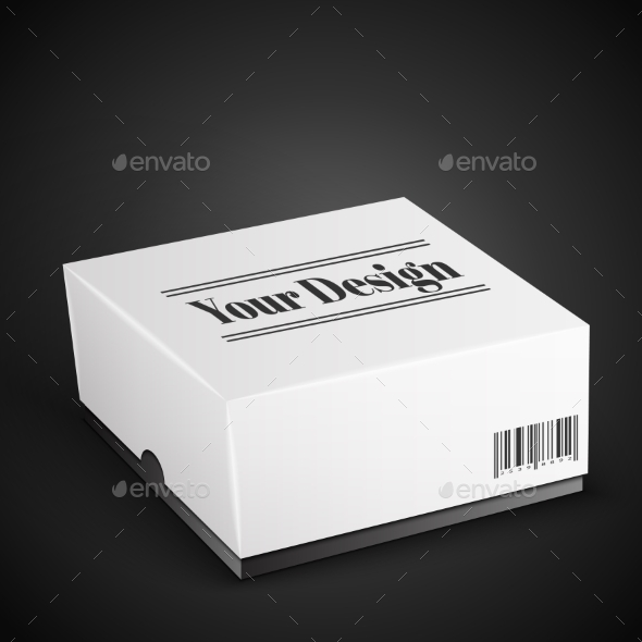 GraphicRiver White Package Box 10580465