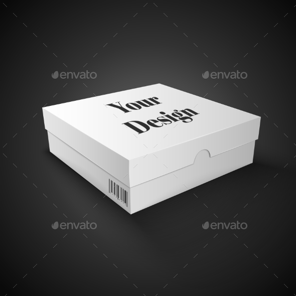 GraphicRiver White Package Box 10580467