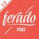 Ferado - Fashion eCommerce PSD Template - ThemeForest Item for Sale