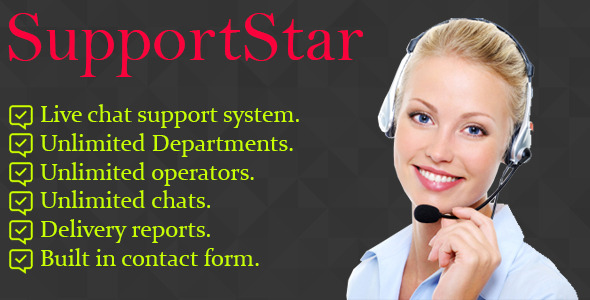 SupportStar - Live chat - CodeCanyon Item for Sale