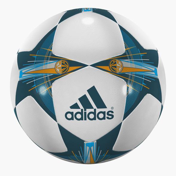 3DOcean Champions League Soccer Ball 10580991