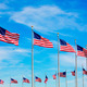 Washington Monument flags circle in DC USA - PhotoDune Item for Sale