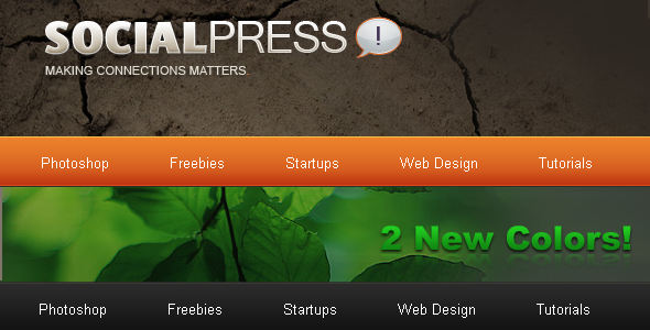 SocialPress - HTML Theme - Theme Preview Image