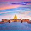 Capitol building Washington DC sunset US congress - PhotoDune Item for Sale